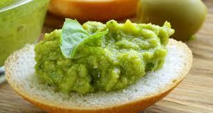 zielony krem do pieczywa