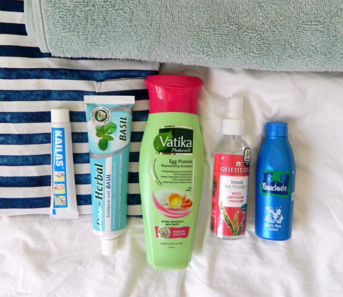 Kosmetyczka na wakacje, podróż