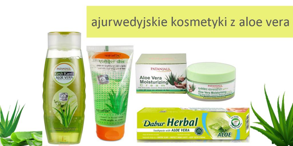 Aloes w kosmetykach ajurwedyjskich - zielonysklep.com