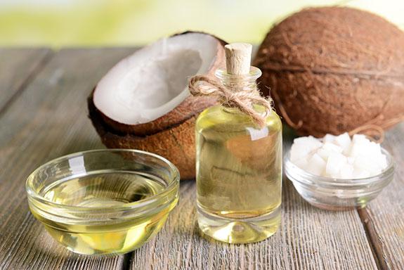 Olejek kokosowy do włosów